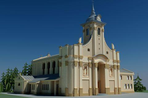 Rozpoczęto prace ziemne przy budowie kościoła