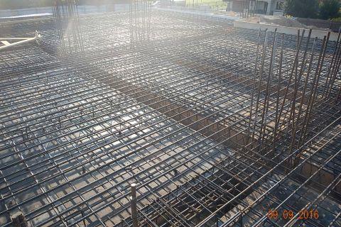 Budowa Kościoła - stan budowy do 09.09.2016 r.