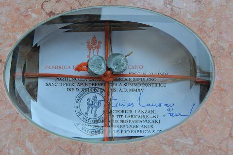 Wmurowanie kamienia wegielnego pod kościół pw. św. Jana Pawła II w Ignatkach - Osiedle - 15.10.2016 r.