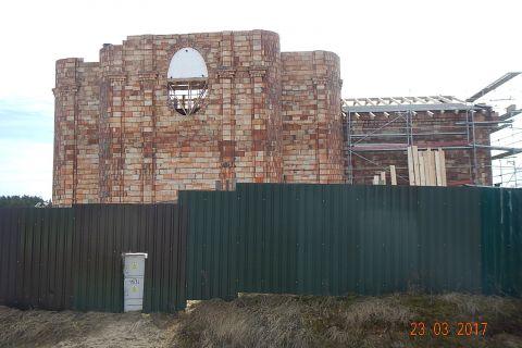 Minął jeden rok od rozpoczęcia budowy kościoła pw. św. Jana Pawła II w Ignatkach - Osiedle