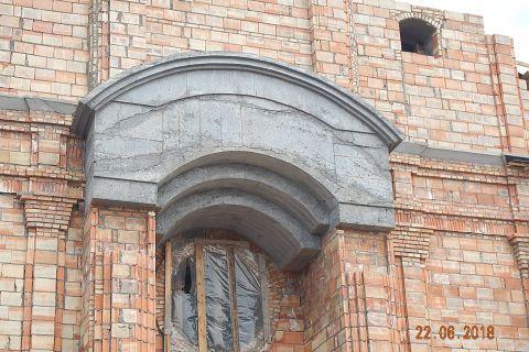 Budowa Kościoła - pomieszczeń parafialnych i plebanii- stan z dnia 22.06.2018 r
