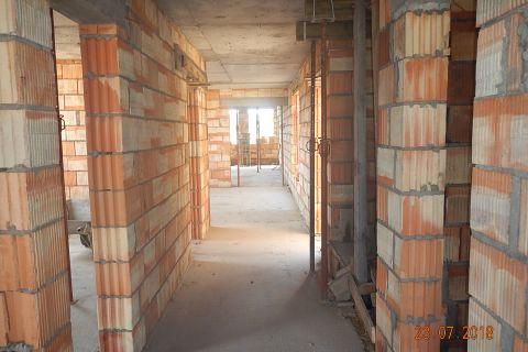 Budowa kościoła - plebanii i pomieszczeń parafialnych- stan budowy 23.07.2018