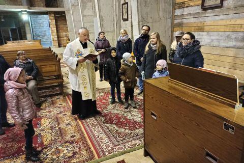Organy w kościele sw. Jana Pawła II w Ignatkach - Osiedle