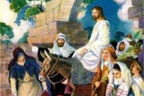 Ogłoszenia parafialne - Wielki Tydzień