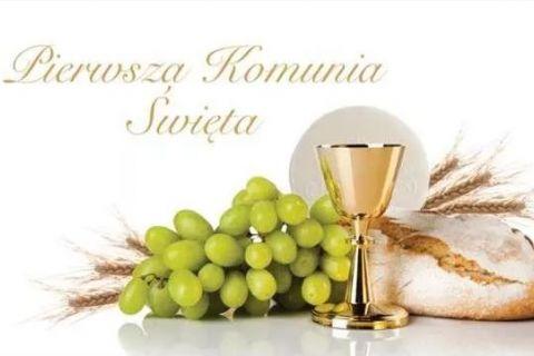 Pierwsza Komunia Święta w kościele św. Jana Pawła II w Ignatkach - Osiedle 15.05.2022 r.